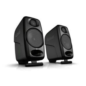 Двухполосные активные студийные мониторные колонки IK Multimedia iLoud Micro Monitor. Цвет черный.