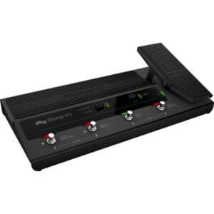 IK Multimedia iRig Stomp I/O гитарный контроллер вокальный интрефейс-контроллер